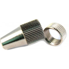 NOZZLE + LOCK NUT FOR 61B