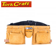 LARGE PROF.LEATHER TOOL BELT 11 POCKET