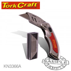 KNIFE UTILITY RED WITH 5 SPARE BLADES IN BLISTER #3366A