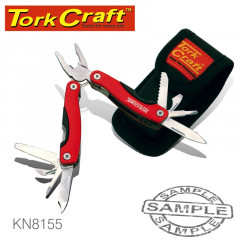MULTITOOL RED MINI WITH NYLON POUCH
