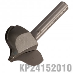 PANEL MOULD POINT CUTTING OGEE 27MM X 20MM RADIUS 7.5MM 1/4' SHANK