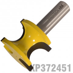 EXTERNAL BULL NOSE 3/4' X 27.8MM FULL RADIUS 19MM 1/2' SHANK