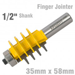ECONOMY FINGER JOINTER 35MM X 58MM  1/2' SHANK