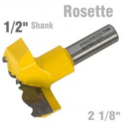 ROSETTE BIT 54MM (2 1/8'CUTTING DIAMETER) 1/2' SHANK 601201