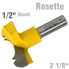 ROSETTE BIT 54MM (2 1/8'CUTTING DIAMETER) 1/2' SHANK 601204