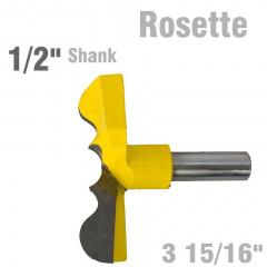 ROSETTE BIT 84MM (3 15/16'CUTTING DIAMETER) 1/2' SHANK