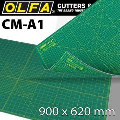 OLFA MAT CRAFT MULTI-PURPOSE 900 X 620MM A1 SELF HEALING