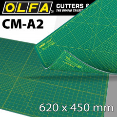 OLFA MAT CRAFT MULTI-PURPOSE 620 X 450MM A2 SELF HEALING