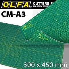 OLFA CUTTING MAT 300X450MM A3 CRAFT MULTI-PURP