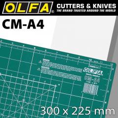 OLFA CUTTING MAT 225 X 300MM A4 CRAFT MULTI-PURPOSE
