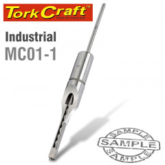 HOLLOW SQUARE MORTICE CHISEL 1/4' INDUSTRIAL 6.35MM