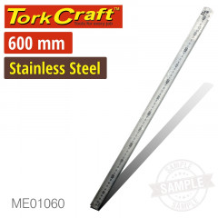 STAINLESS STEEL 600X30X1.2MM RULER