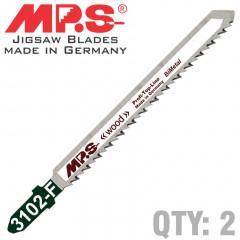 JIGSAW BLADE PLASTICS T SH.10TPI T101BRF