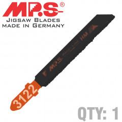 JIGSAW BLADE TUNGSTEN GRIT T-SHANK 75MM 1/PACK T130RIFF