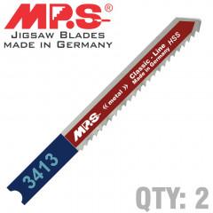 JIGSAW BLADE B&D METAL 12TPI 75MM