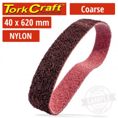 NYLON BELT COARSE 40MMX620MM