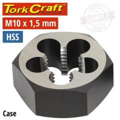 DIE HSS HEX 10X1.50MM 1'1/CASE