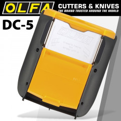 OLFA BLADE DISPOSAL HOLSTER CLIPS ON TOOL BAG OR BELT