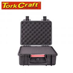 HARD CASE 350X315X165MM OD WITH FOAM BLACK WATER & DUST PROOF (312413)