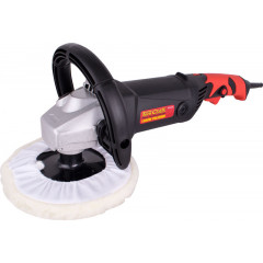 POLISHER 1500W 180 B/PAD AND BONNET 1000-3000RPM CONST/POWER D-HANDLE