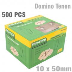 DOMINO TENON 10X50MM 500PC PER COLOUR BOX BEECH WOOD