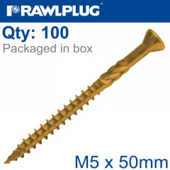 R-DSX SCREWS M5 X 50X30 GINGER RUSPERT X100-BOX