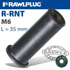 RAWLNUT M6X35MM X50-BOX