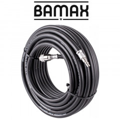 RUBBER AIR HOSE 8MMX20M W.QUICK COUPLER BX15813R20