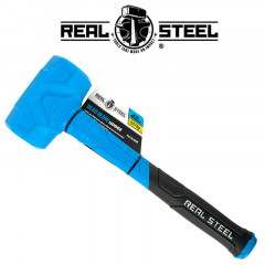 HAMMER DEAD BLOW 1.27KG 45OZ GRAPH. HANDLE REAL STEEL