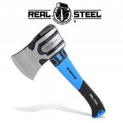 AXE HAMMER HEAD SMALL GRAPH. HANDLE REAL STEEL