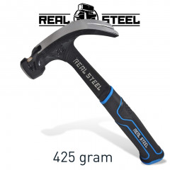 HAMMER CLAW CURVED 425G 15OZ ALL STEEL HANDLE REAL STEEL