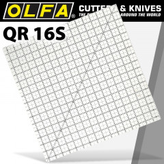 QUILT RULER 16' X 16' SQUARE WITH GRID