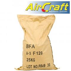 SAND BLAST SAND 120 GRIT ALUM OXIDE FOR AIR BRUSH 25KG