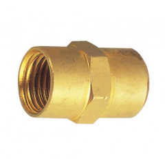 REDUCING MANIFOLD BRASS 1/2X3/4 F/F