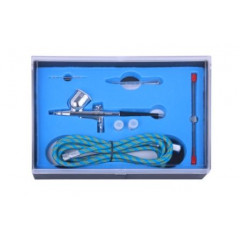 AIR BRUSH KIT 0.2 0.3 0.5MM NOZZLES WITH 1.8M AIR HOSE