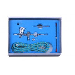 AIR BRUSH KIT 0.25 0.3MM NOZZLES WITH 1.8M AIRHOSE