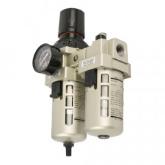 FILTER / REGULATOR / LUBRICATOR 1/2' WITH AUTO DRAIN (HEC4010-04D)