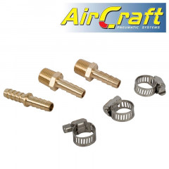 HOSE REPAIR KIT 8MM WITH DOUBLE UNION AND HOSE CLIPS