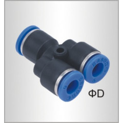 PU HOSE FITTING Y JOINT 8MM