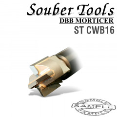 CARBIDE TIPPED CUTTER 16.2MM /LOCK MORTICER FOR WOOD SCREW TYPE