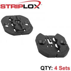 STRIPLOX CLIP 50 BLACK (4 SETS)