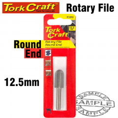ROTARY FILE ROUND END