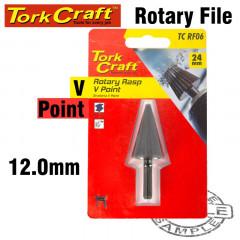 ROTARY RASP V-POINT 4-14MM