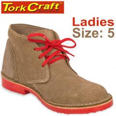 TORK CRAFT LADIES VELLIE SHOES BROWN SIZE 5