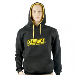 OLFA HOODY BLACK LARGE