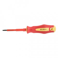 SCREWDRIVER INSULATED SQUARE NO 1X80MM