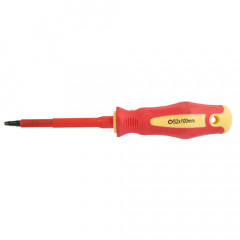 SCREWDRIVER INSULATED SQUARE NO 2X100MM