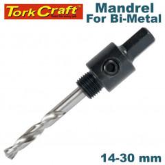 MANDREL 3/8 HEX 14MM - 30MM