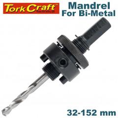 MANDREL 7/16 HEX 32-152 W/PINS