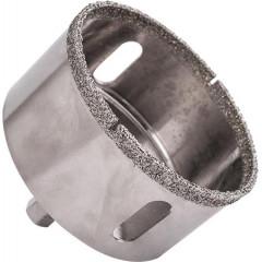DIAMOND CORE BIT 57MM FOR TILES HEX SHANK
